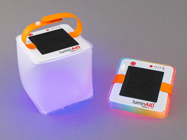 Inflatable Solar and USB Powered Lanterns