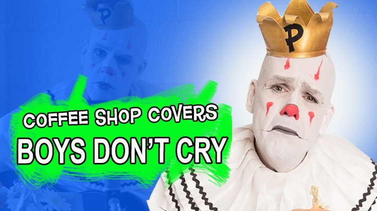 Puddles Pity Party Plays a Heartbreaking Acoustic Cover of 'Boys Don't Cry' in the Style of Bob Dylan