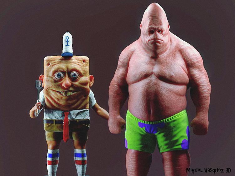 Real Life SpongeBob and Patrick