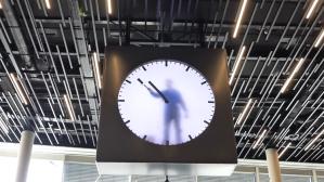 Schiphol Clock