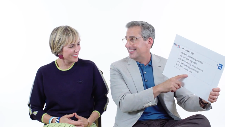 Steve Carell and Kristen Wiig Answer the Web's Most Searched Questions About Themselves