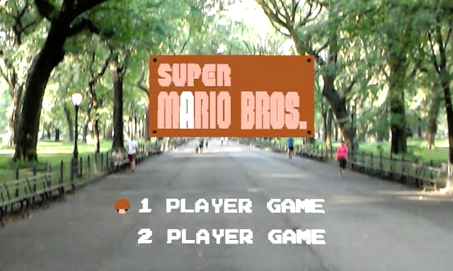 World 1-1 From Super Mario Bros. Brought to Life as a First Person Augmented Reality Game