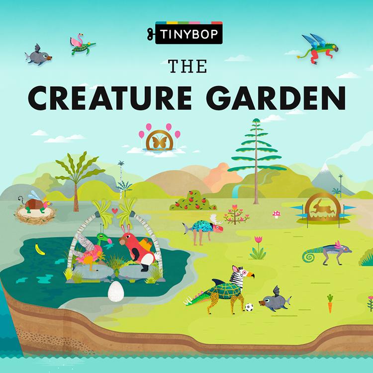 garden app. The Creature Garden App