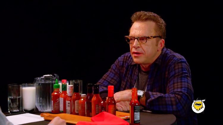 Tom Arnold Answers Questions About His Life While Eating ...