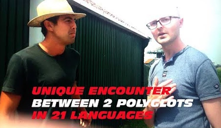 Two Polyglots Engage In a Remarkable Conversation Using 21 Different Languages