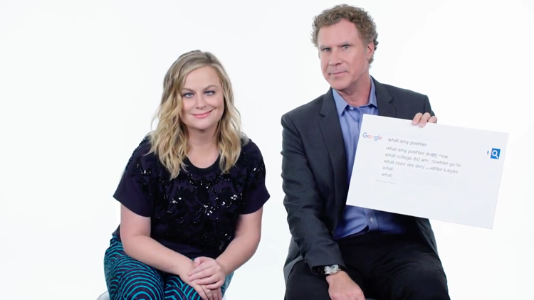Will Ferrell and Amy Poehler Answer the Web's Most Searched Questions About Themselves