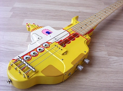 Yellow Submarine Bass Body