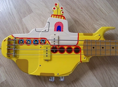 Yellow Submarine Bass Pickups