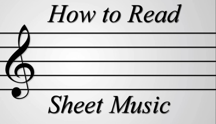 A Humorously Handy Guide to Reading Sheet Music