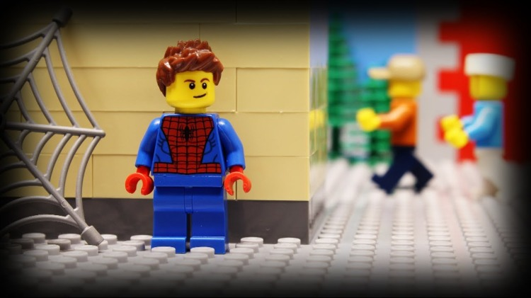 A LEGO Stop-Motion Animated Short That Looks at What Spider-Man Does on His Day Off