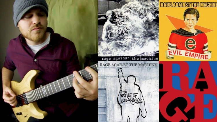A Three Minute Guitar Medley of Every 'Rage Against the Machine' Studio Recorded Song