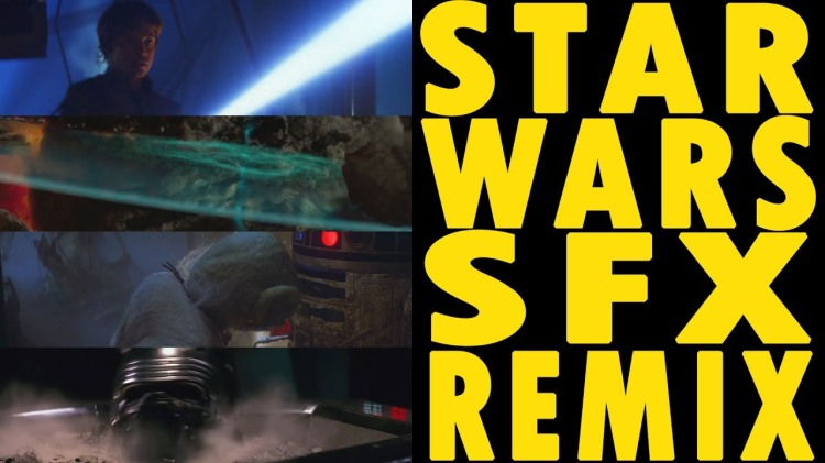 A Sci-Fi Remix of Sounds Effects From All Eight Star Wars Films