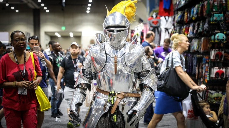 Adam Savage Went Incognito at Comic-Con 2017 Dressed as King Arthur From Excalibur