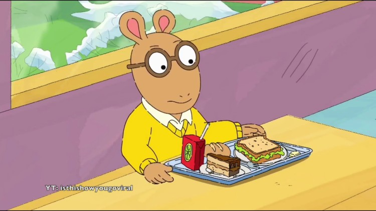 Arthur the Aardvark Sings the Song 'Redbone' by Childish Gambino
