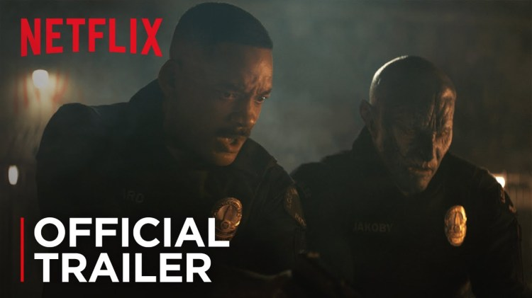 Bright, A Netflix Movie Starring Will Smith About Humans and Mystical Creatures Trying to Get Along