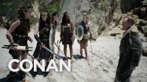 Conan Wonder Woman Cold Open