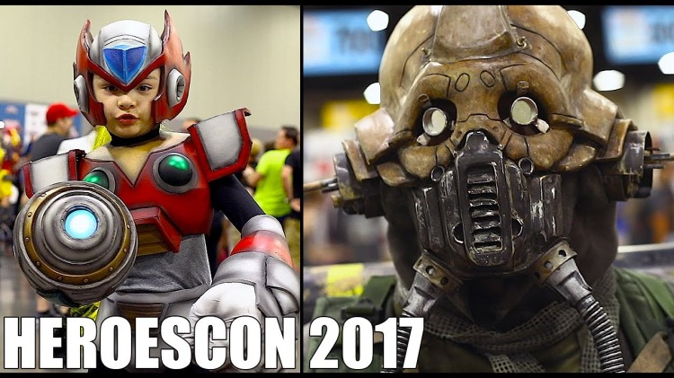 Cosplay at the HeroesCon 2017 Comic Book Convention in Charlotte, North Carolina