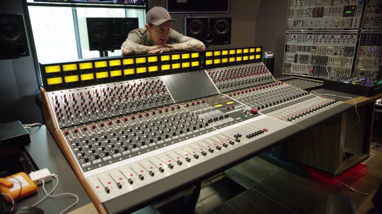 An Inside Look at the Incredible Canadian Home Studio of Electronic Musician Deadmau5