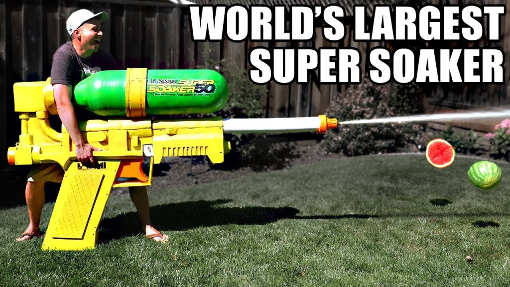 The World's Largest Super Soaker