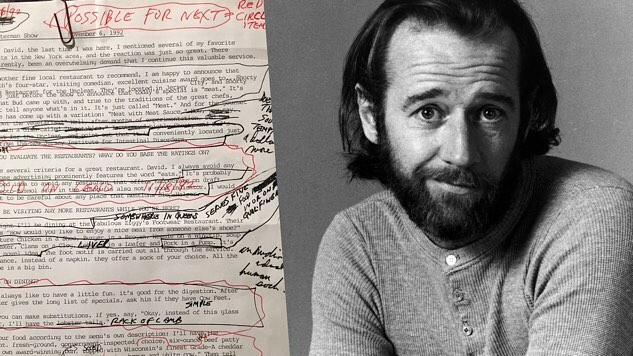 The National Comedy Center to Premiere the George Carlin Archives During Lucille Ball Comedy Festival