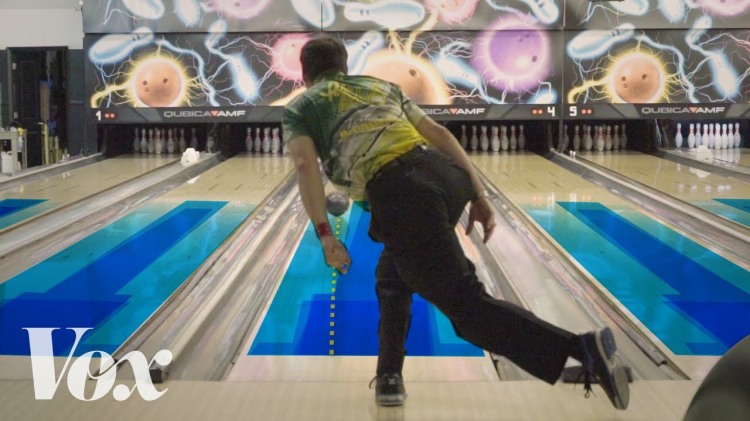 How Hidden Oil Patterns in Bowling Alleys Can Help Guide Bowlers to a Higher Score