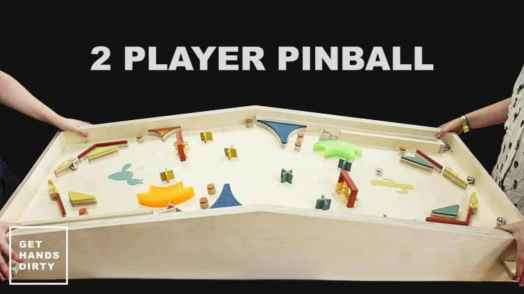 How to Make a Two Player Pinball Machine