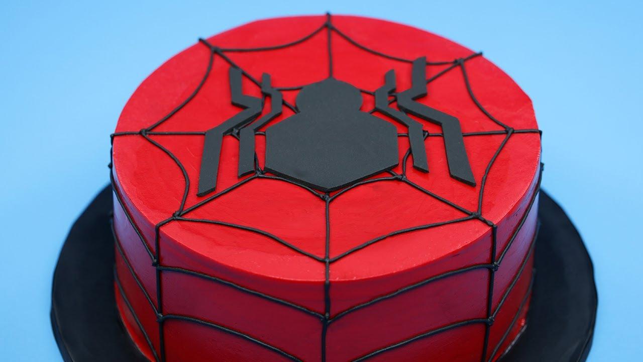 Tutorial Aprende A Cocinar Tu Propio Pastel De Spider Man