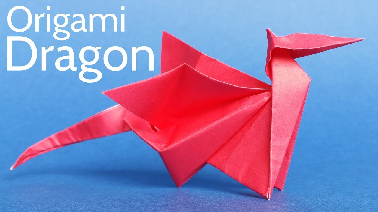 An Easy Way to Make a Cool Origami Dragon