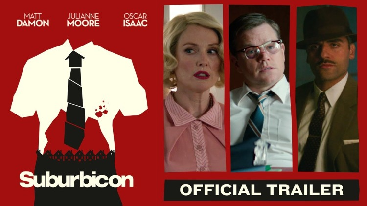 Matt Damon Takes on the Mob and Gets Bloody in a Trailer for the Coen Brother's Film 'Suburbicon'