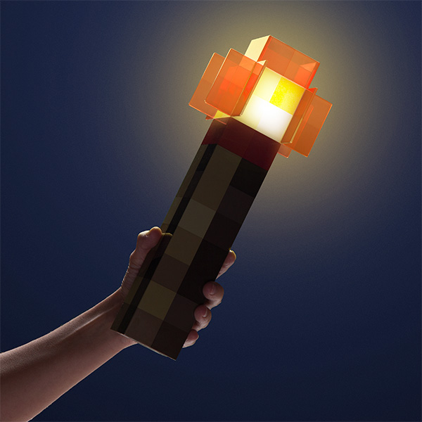 Minecraft Wall Light Mod : Minecraft Redstone Light Up Wall Torch
