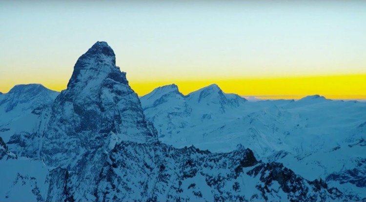 A Soothing 10 Hour Visual Soundscape Featuring Scenic Mountain Footage Taken by Planet Earth II