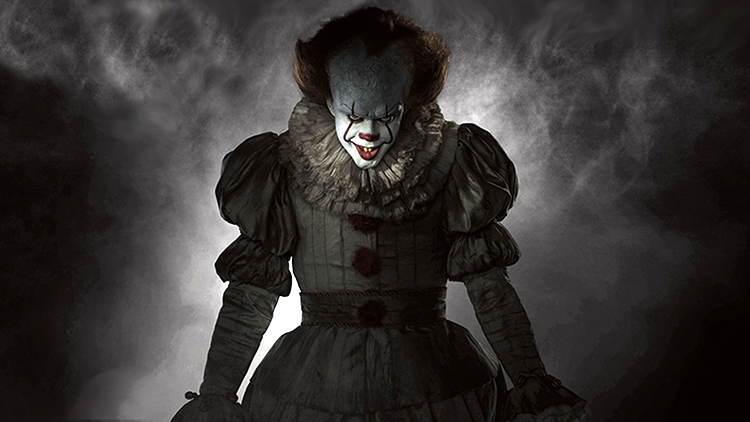 Pennywise the Clown Hunts Down Kids in a Horrifying New Trailer for Stephen King's 'IT'