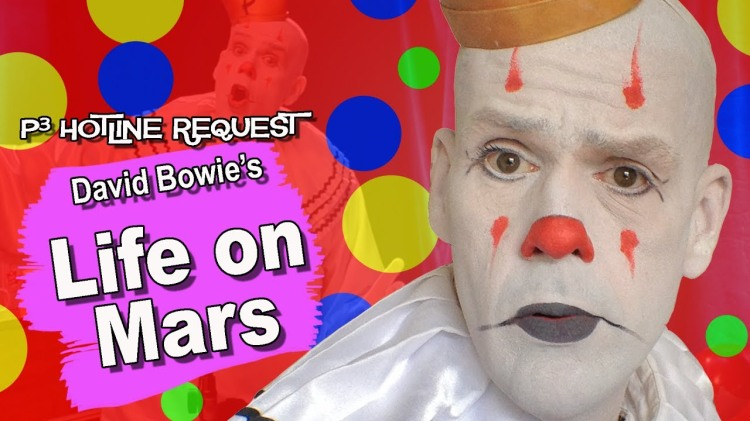 Puddles Pity Party Sings an Emotionally Rhapsodic Cover of David Bowie's 'Life on Mars'