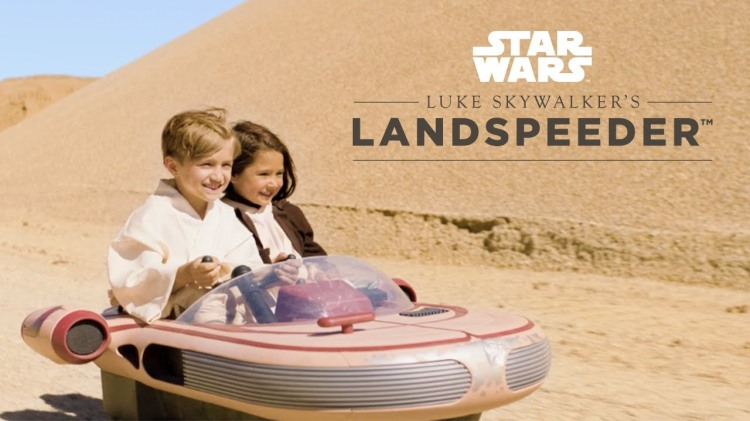 Radio Flyer Releases Drivable Kid-Sized Version of Luke Skywalker's Landspeeder