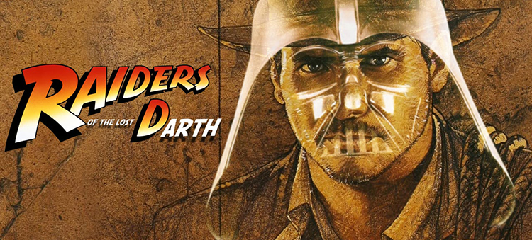 Raiders of the Lost Darth, A Mashup of Raider of the Lost Ark and Star Wars Films