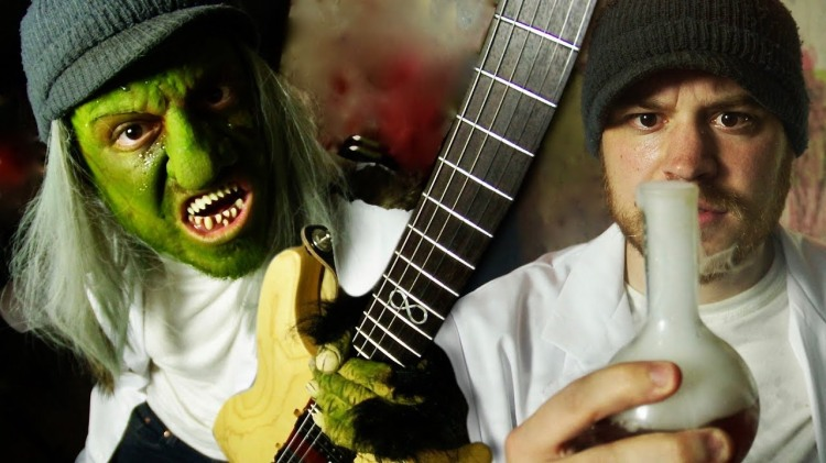 Rob Scallon Turns Into a Green Monster After Drinking a Magic Potion for His  Song 'JekylnHyde'