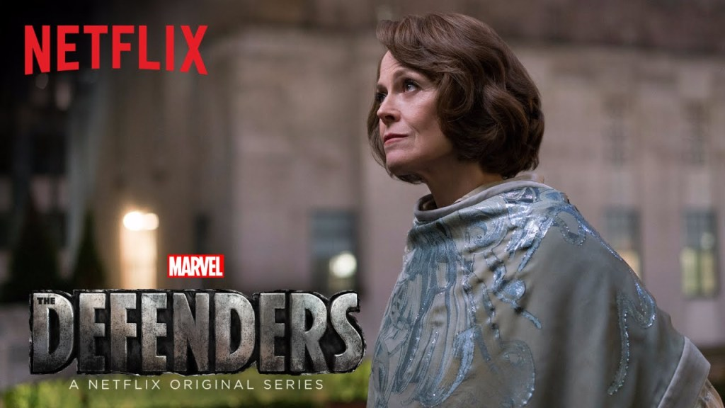 Sigourney Weaver Sets Out to Crush New York City in a New Trailer for 'The Defenders'
