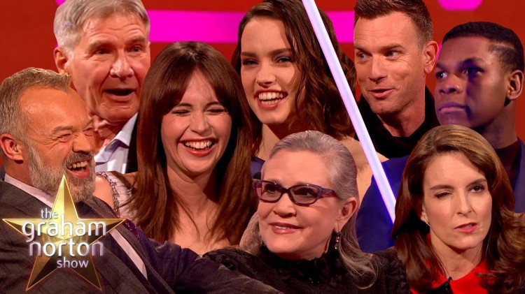 Some of the Best Star Wars Moments on The Graham Norton Show