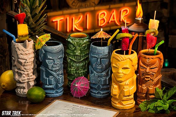 Star Trek: The Original Series Ceramic Tiki Mugs