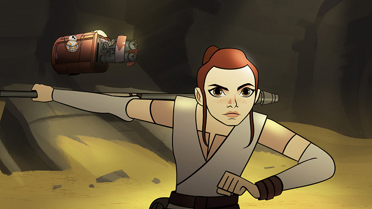 Disney & Lucasfilm Release First 3 Episodes of Their Animated Miniseries 'Star Wars: Forces of Destiny'