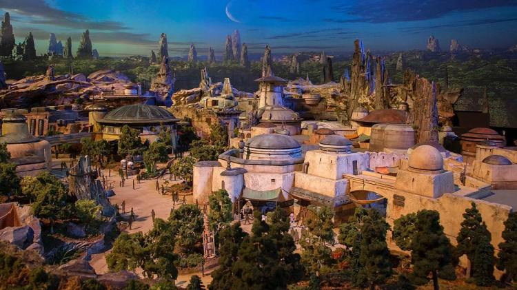 Disney Reveals What the New Star Wars Themed Land Will Look Like With a Detailed Model