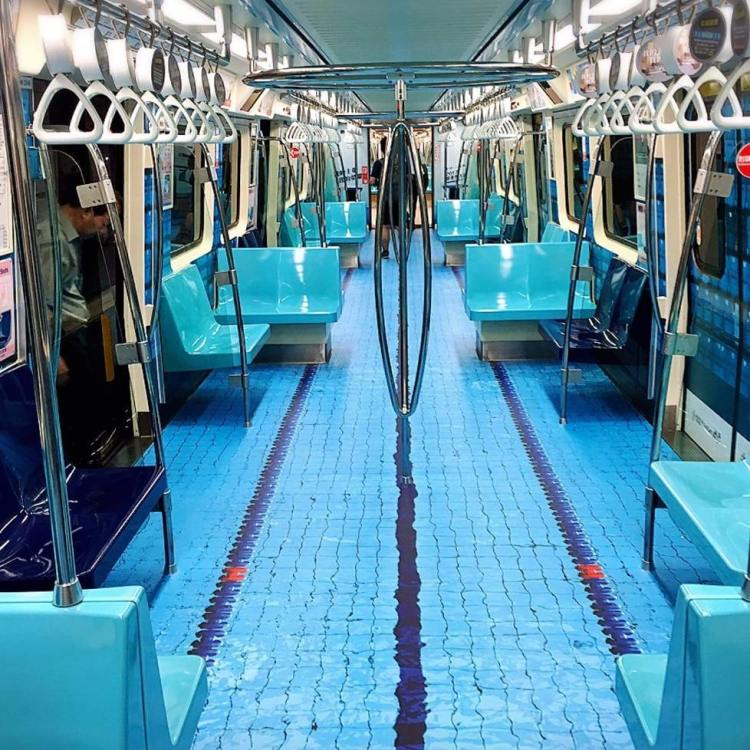 Taipei Transforms Subway Cars Into Realistic Sports Venues to Promote Summer Universiade Games