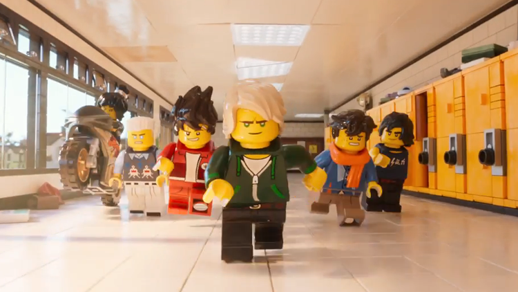 Green Ninja and His Team Face the Evil Garmadon in a New Trailer for 'The LEGO Ninjago Movie'