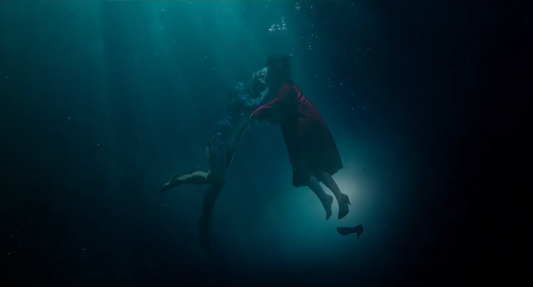 The Shape of Water, A Cold War Era Love Story About a Mute Woman and a Merman Creature