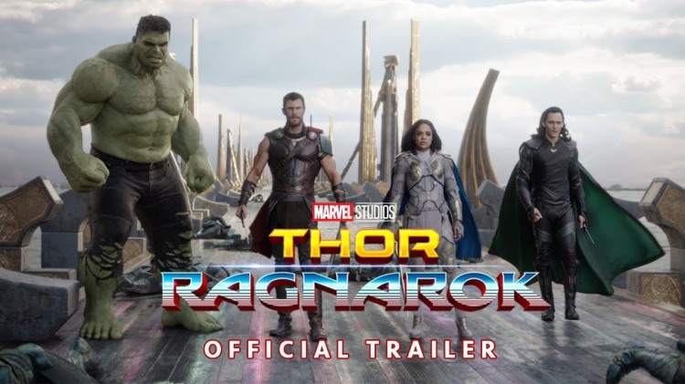 Thor, Hulk, Loki, and Valkyrie Join Forces to Save Asgard in New 'Thor: Ragnarok' Trailer