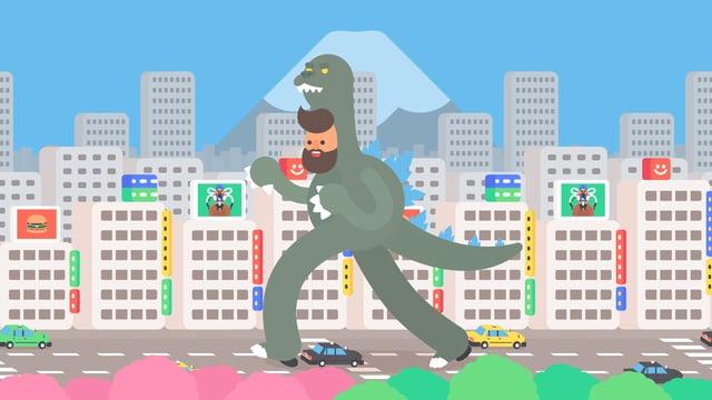 Tokyo Gifathon, Animator Celebrates His Month in Tokyo With 30 Wonderful Animated GIFs