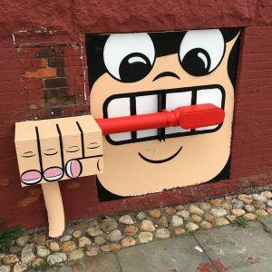 Tom Bob Street Art in New York City