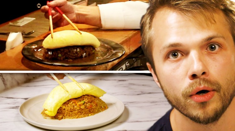 Video Producer Hilariously Tries to Recreate a Complicated Japanese Omelet Recipe