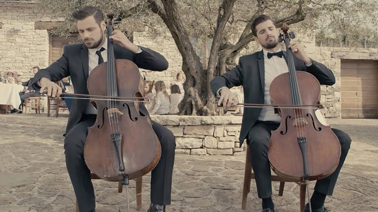 2CELLOS Perform a Beautiful Cover of the Love Theme From The Godfather