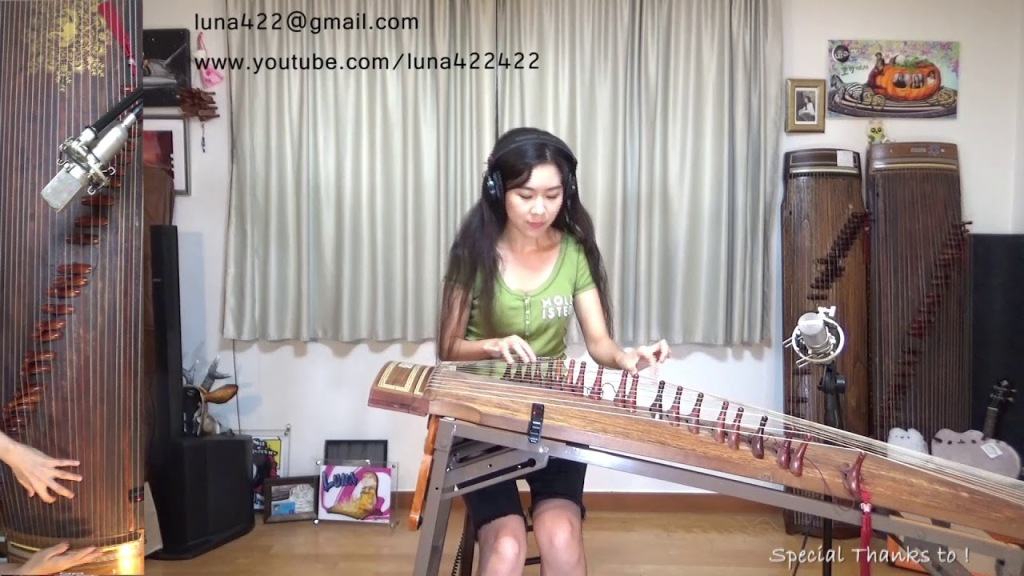 A Beautiful Cover of the Game of Thrones Theme Song Played on a Korean Gayageum